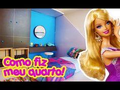 Casa da Barbie - Como fiz e decorei o meu quarto! - YouTube
