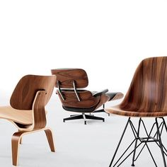 "We're thankful for the Eameses' ""Kazam! Machine"" and experimentations with molded wood. More than 70 years later we continue to enjoy the results. #designwithinreach #eames #hermanmillersale"