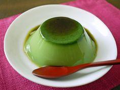 brown sugar Matcha milk jelly that green tea scent