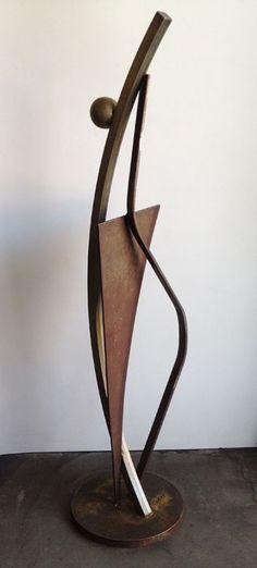 In Repose Metal Sculpture