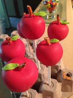 Teacher appreciation cake pops