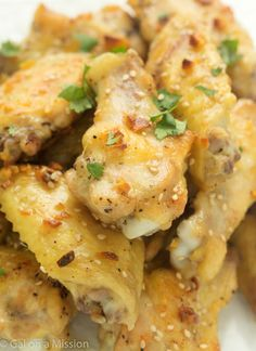 The Best Butter and Garlic Chicken Wings Recipe - RecipeChart.com
