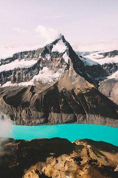 "thelavishsociety: ""Mt. Columbia by Johannes Becker | LVSH """