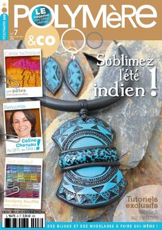 Magazine n° 7 Celine, Polymer Clay, Magazine, Pocket, Stuff To Buy, Inspiration, Accessories, Beautiful, Tips