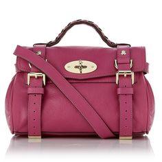 Mulberry Mini Alexa Crossbody Bag ($985) ❤ liked on Polyvore