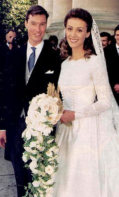 Prince Guillaume and Princess Sibilla of Luxembourg
