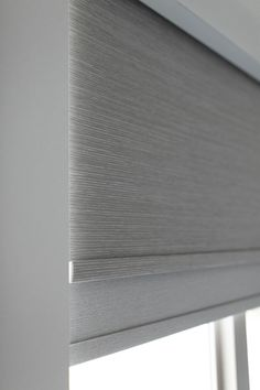 Today I'm sharing one of my favorite features in our home, which may surprise you - our electric shades! Roll Down Shades, Blinds For Windows Living Rooms, Motorized Window Shades, Motorized Window Treatment, Blinds For Large Windows, Modern Window Shades, Modern Windows, Lutron Shades, Modern Blinds
