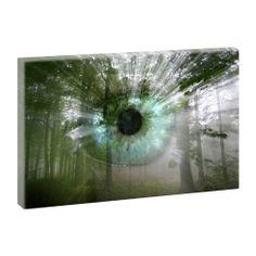 Durchblick - Kunstdruck auf Leinwand -H-65cmB-100cm-Angebote im Shop