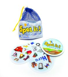 Spot it! Adventure Fun Card Game