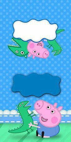 Bolo George Pig, Cumple George Pig, George Pig Party, Peppa Pig Birthday Cake, 7th Birthday, Birthday Party Themes, Peppa Pig Wallpaper, Cumple Peppa Pig, Pop Up