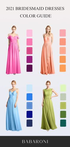 Weekly updated code. Shop with the code EOJL to save your shipping fee. Jessie is a floor-length chiffon bridesmaid dress in an A-line cut. Come and visit babaroni.com, choose from 66+ colors & 500+ styles. #bridesmaiddresses #babaroni #weddinginspiration #beachwedding #weddingdress #weddingflower #weddingshoes #shoes #promdress #promgown #wedding#babaroni #weddingideas #babaroni #bridesmaiddress #2021wedding #weddinginspiration Cheap Bridesmaid Dresses, Prom Dresses, Formal Dresses, Wedding Dresses, Color Trends, Dress Collection, Wedding Inspiration, Chiffon, Gowns