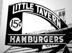 Little Tavern hamburgers Glen Burnie Maryland. I remember when they were only 10c