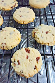 These Norwegian Pecan Cookies smell like Christmas. They are buttery and light w… These Norwegian Pecan Cookies smell like Christmas. They are buttery and light with delicious pecans scattered throughout. The perfect finale to 12 Days of Cookies. Norwegian Cuisine, Norwegian Food, Cookie Desserts, Cookie Recipes, Dessert Recipes, Pecan Cookies, Yummy Cookies, Xmas Cookies, Holiday Baking