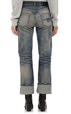 R13 Marlon Jeans - Cropped - Barneys.com