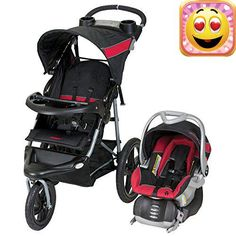 The #Baby Trend expedition jogger travel system switches from a walking stroller to a jogging one with just a lock of the wheel. Whether you stroll the urban ter...