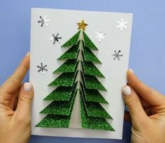 Creative ideas about paper crafts and pop up cards ideas. The post Christmas Pop up Cards 🎄 appeared first on Pinova. Diy Arts And Crafts, Christmas Projects, Creative Crafts, Holiday Crafts, Handmade Crafts, Christmas Pops, Diy Christmas Cards, Christmas Decorations, Christmas Ornaments
