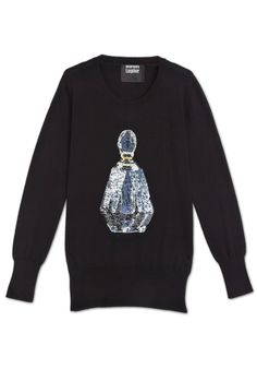 Perfume Sequin Jumper by Markus Lupfer