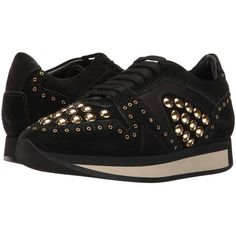 Burberry Field Sneaker (Black) Women's Lace up casual Shoes (2,815 SAR) ❤ liked on Polyvore featuring shoes, sneakers, burberry, burberry sneakers, leather shoes, leather lace up shoes and kohl shoes