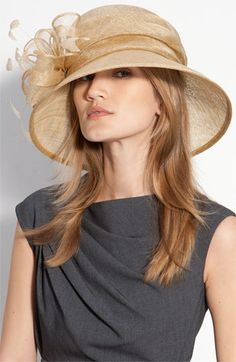 Nordstrom Collection Tall crown hat