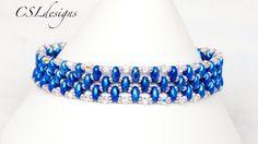 Easy ~ Elegant SuperDuo bracelet ~ Seed Bead Tutorials