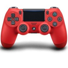 Magma Red Sony DualShock 4 Controller PlayStation 4 PS4 Comfortable Grip New #Sony