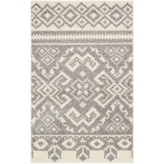 Shop for Safavieh Adirondack Southwestern Ivory / Silver Rug (2'6 x 4'). Free Shipping on orders over $45 at Overstock.com - Your Online Home Decor Outlet Store! Get 5% in rewards with Club O! - 16113235