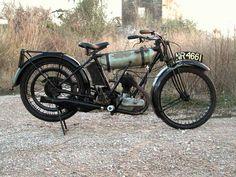 BSA Roundtank 250 cc, 1925