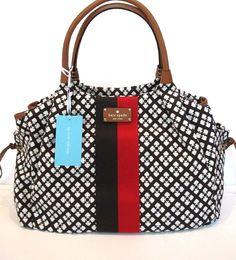 Amazon.com: Kate Spade New York Classic Spade Stevie Baby Bag (Chocolate): Baby