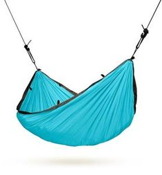 LA SIESTA Colibri Turquoise Fabric Hammock at Lowe's. Colibri Turquoise single travel hammock is lightweight, made of soft, breathable parachute silk. Thanks to an integrated suspension system, it is quickly