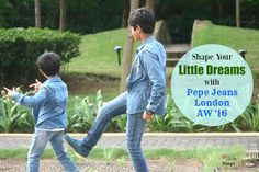 Shape Your Little Dreams with Pepe Jeans London AW