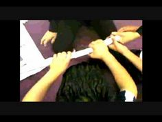 Team building - make a bridge out of newspaper tall enough to roll a ball under yet strong enough to hold a dictionary. YouTube