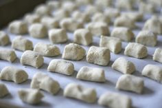 e is for eat: G is for: Gluten Free Ricotta Gnocchi Gluten Free Gnocchi, Gluten Free Flour, Almond Recipes, Gluten Free Recipes, Chickpea Fries, Garbanzo Bean Flour, Whole Food Recipes, Cooking Recipes, Ricotta Gnocchi
