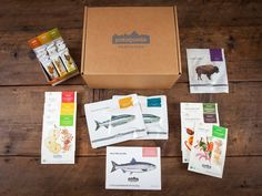Patagonia Provisions Gift Box with Breakfast, Soup, Bars, Salmon and Buffalo