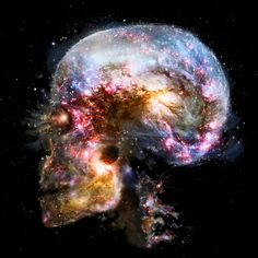 Milky Way Universe Galaxy Art Silk Poster Print Outer Space Skull Landscape Picture Art Galaxie, Trash Polka, Galaxy Art, Galaxy Space, Landscape Pictures, Skull And Bones, Psychedelic Art, Milky Way, Oeuvre D'art