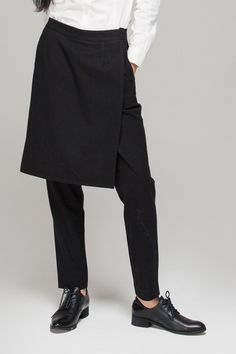 Trousers with split skirt - FrontRowShop