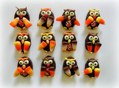 Sugar Swings! Serve Some: Simple Candy Owls
