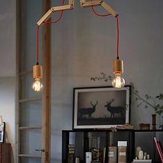 maishang® Kronleuchter mini style moderne / zeitgemässe Wohn- / Schlafraum / Esszimmer / Arbeitszimmer / Büro Holz / Bambus 2016 - €82.31