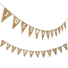 Wedding-Bunting-Rustic-Hessian-Burlap-Jute-Just-Married-Mr-Mrs-Banner-Flax-Flag