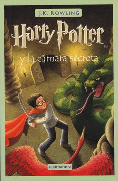 Spainish cover - Harry Potter and the chamber of secrets