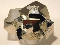 A Rare STAR Cluster! 100% Natural Entwined PYRITE Crystal Cubes! Spain 119.9gr