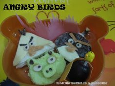 Making Bento is a Blessing... :): Bento No. 88 - Angry Birds, yes again..:)