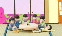 Palmate Petite Osomatsu-san - We are Family! Premium Bandai Trading Figures Osomatsu-san