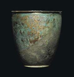 A GREEK BRONZE SITULA CIRCA 4TH CENTURY B.C.