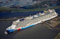Norwegian Breakaway cruise....Norwegian Cruise Line has nine ships.
