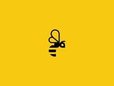 Bee designed by vakho. the global community for designers and creative professionals. Bee Design, Icon Design, Branding Design, Logo Design, Logo Branding, Honey Bee Tattoo, Bee Icon, Logo Bee, Honey Logo