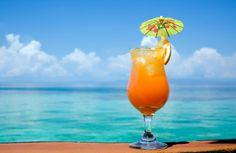 Goombay Smash Drink    (4 servings, make a pitcher!)  4oz. spiced Rum 4oz. Malibu® coconut Rum  8oz. pineapple juice  8oz. orange juice  Mix ingredients over ice, serve with an orange or cherry garnish, & ENJOY!