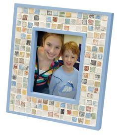 Mosaic Keepsake Frame project from DecoArt