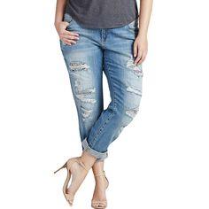 ee17e358 Lucky Brand Plus Size Reese Boyfriend Jeans Curvy Plus Size, Plus Size  Boyfriend Jeans,
