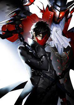 Persona 5 Anime, Persona 5 Joker, Persona 4, Boys Anime, Dark Anime Guys, 19 Days Anime, Shin Megami Tensei Persona, Akira Kurusu, Cool Anime Wallpapers