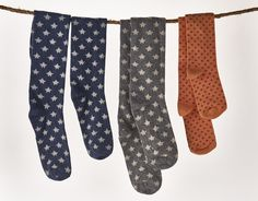 Slouchy Boot Socks.  Perfectly fun and functional for now.  Washable, comfortable, fun and colorful.